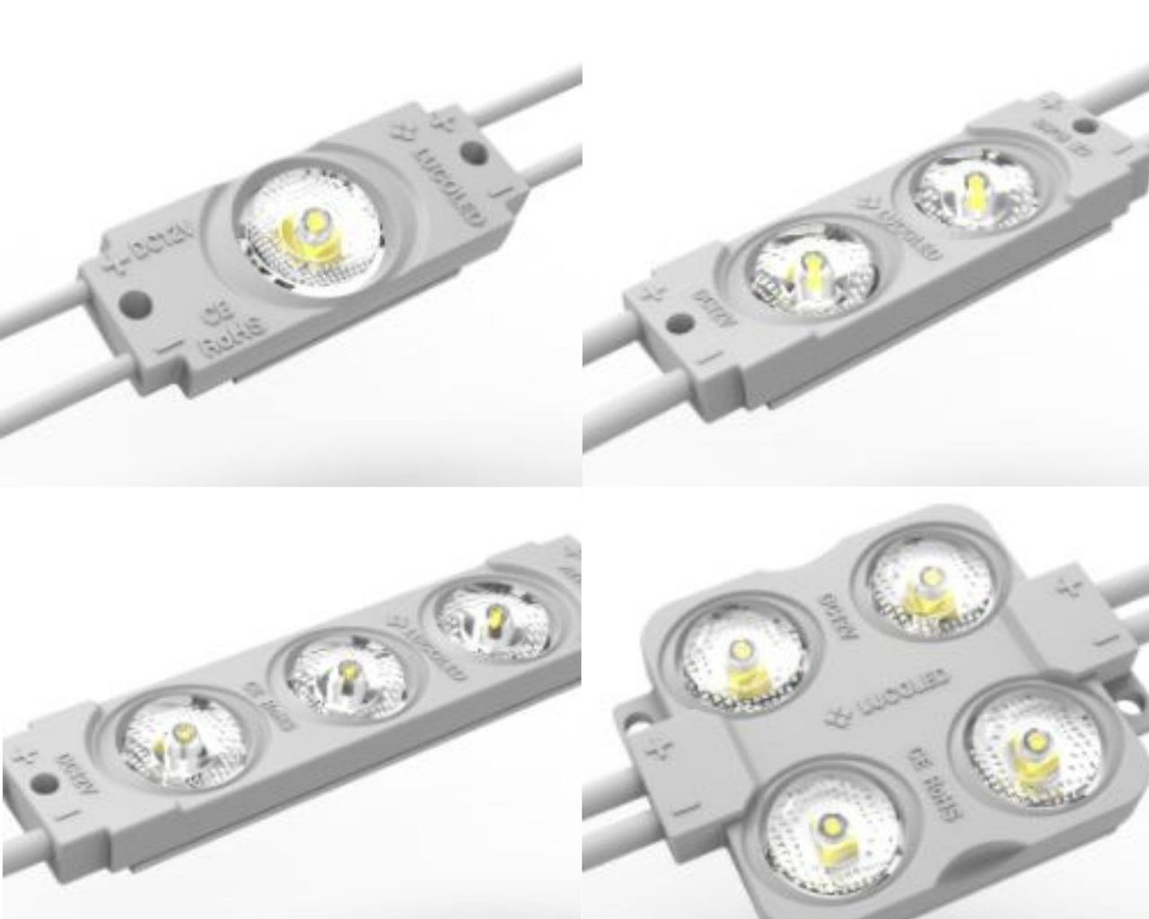 Lucoled modules backlighting PV serie