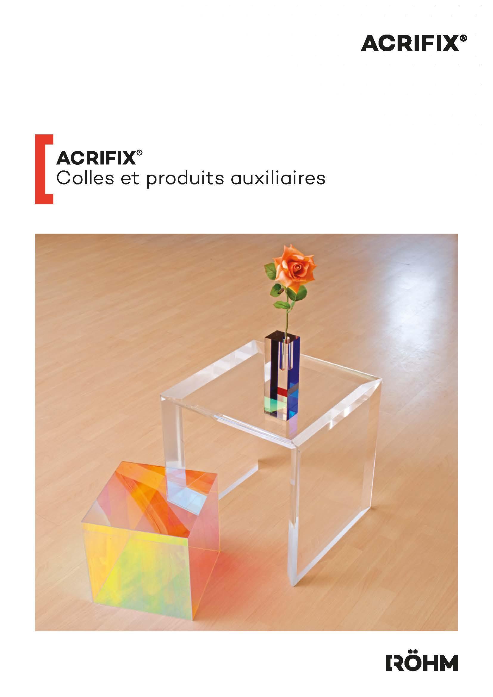 Afbeelding Cover brochure ACRIFIX®