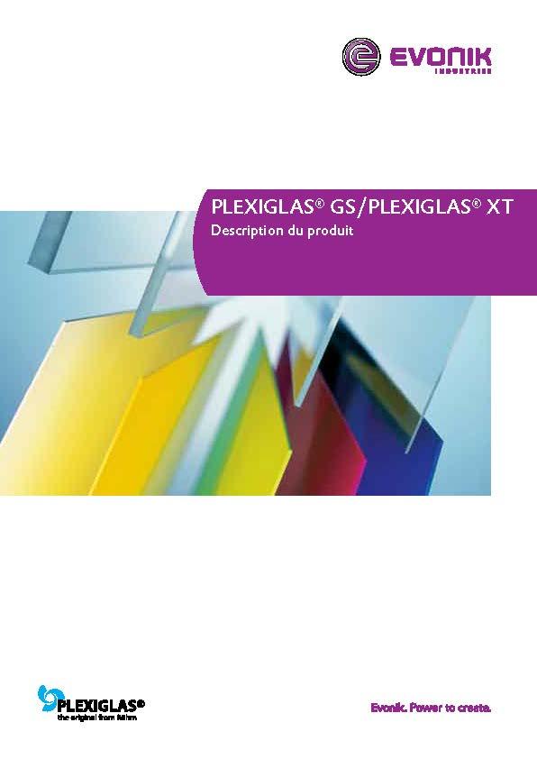 Afbeelding Cover Brochure PLEXIGLAS® GS
