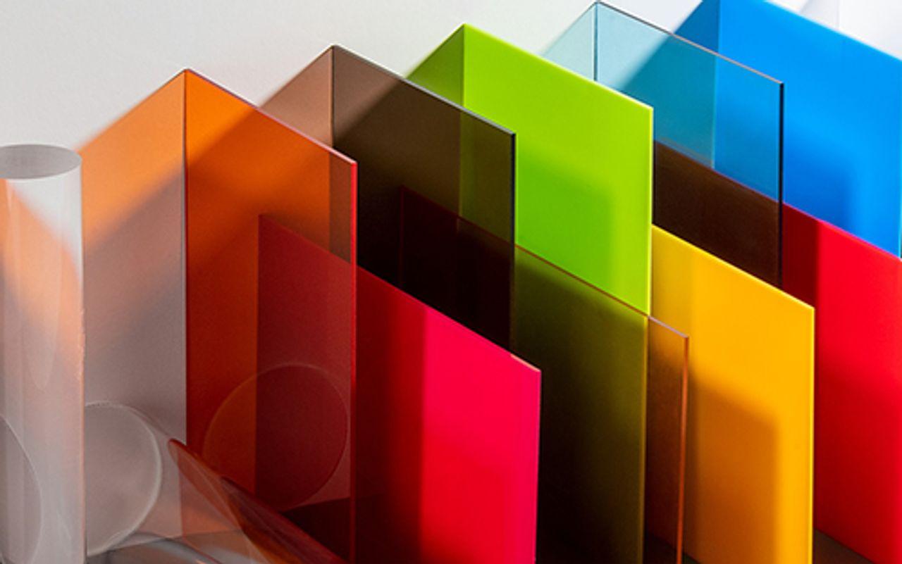 Afbeelding PLEXIGLAS® XT kleuren