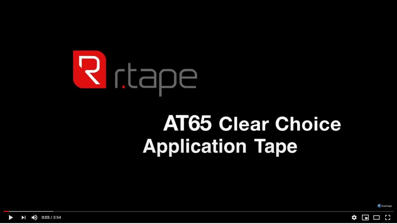Image video RTape® Clear Choice