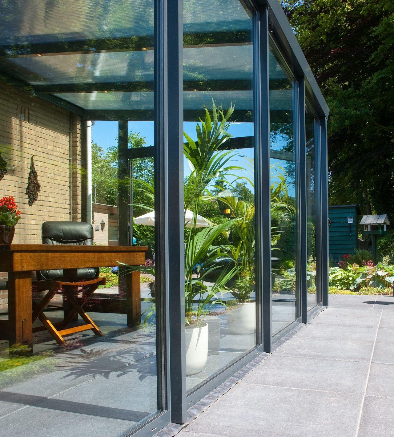 Wintertuin compleet veranda