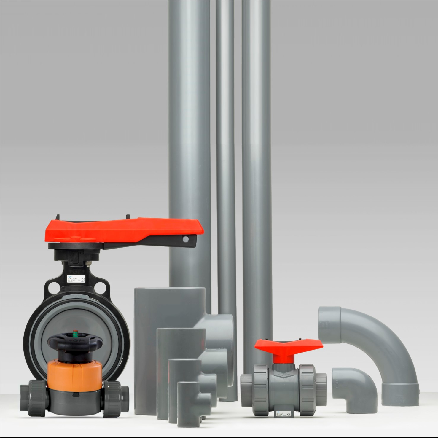 ABS industriële kunststof leidingsystemen