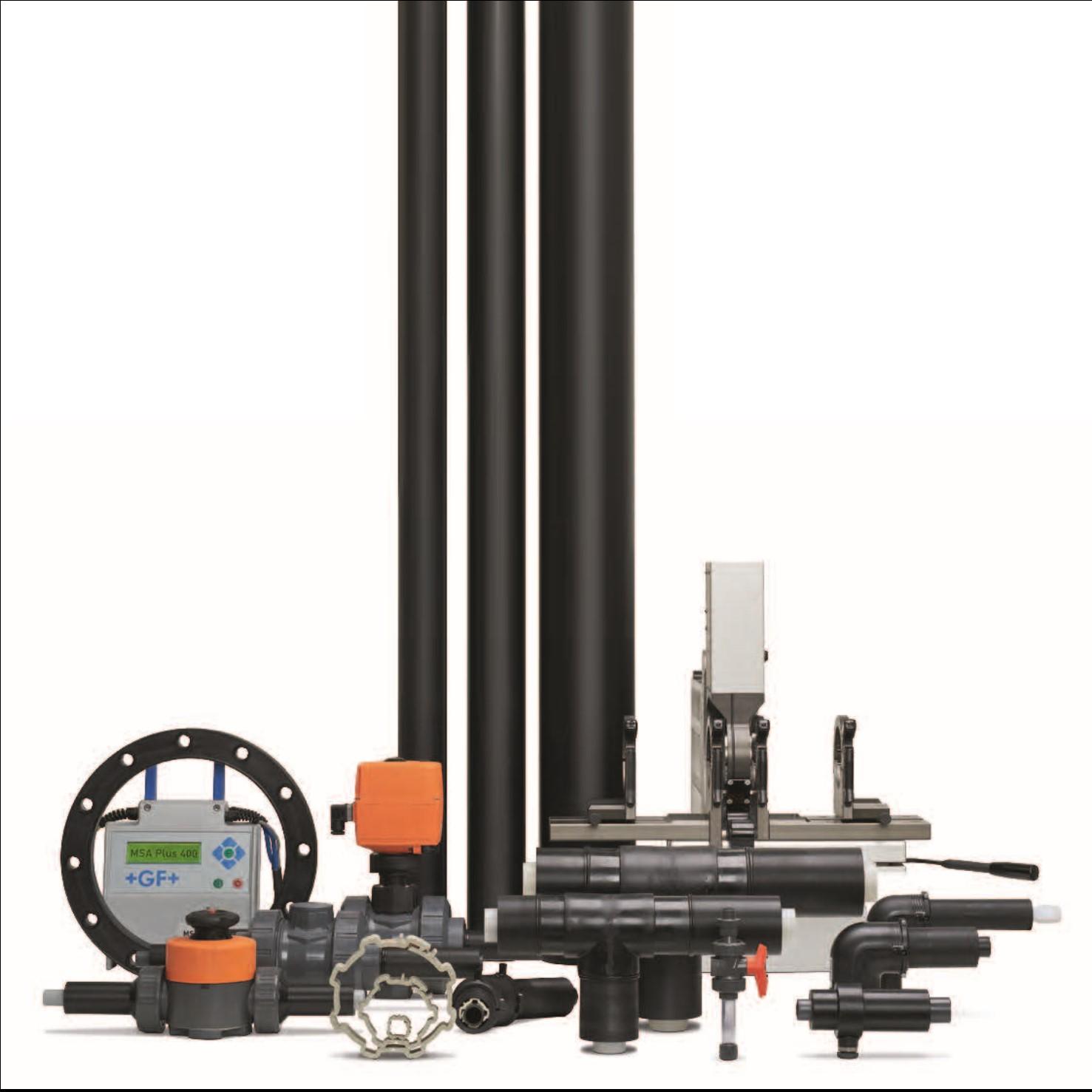 Dubbelwandige industriële kunststof leidingsystemen