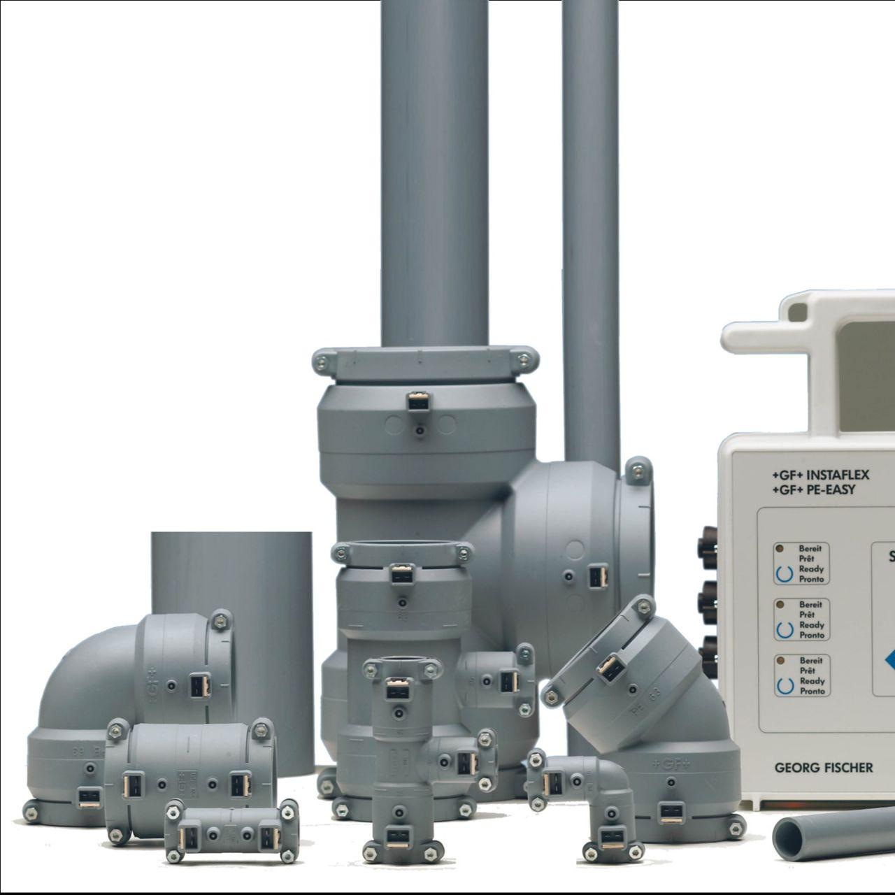 PB industriële kunststof leidingsystemen