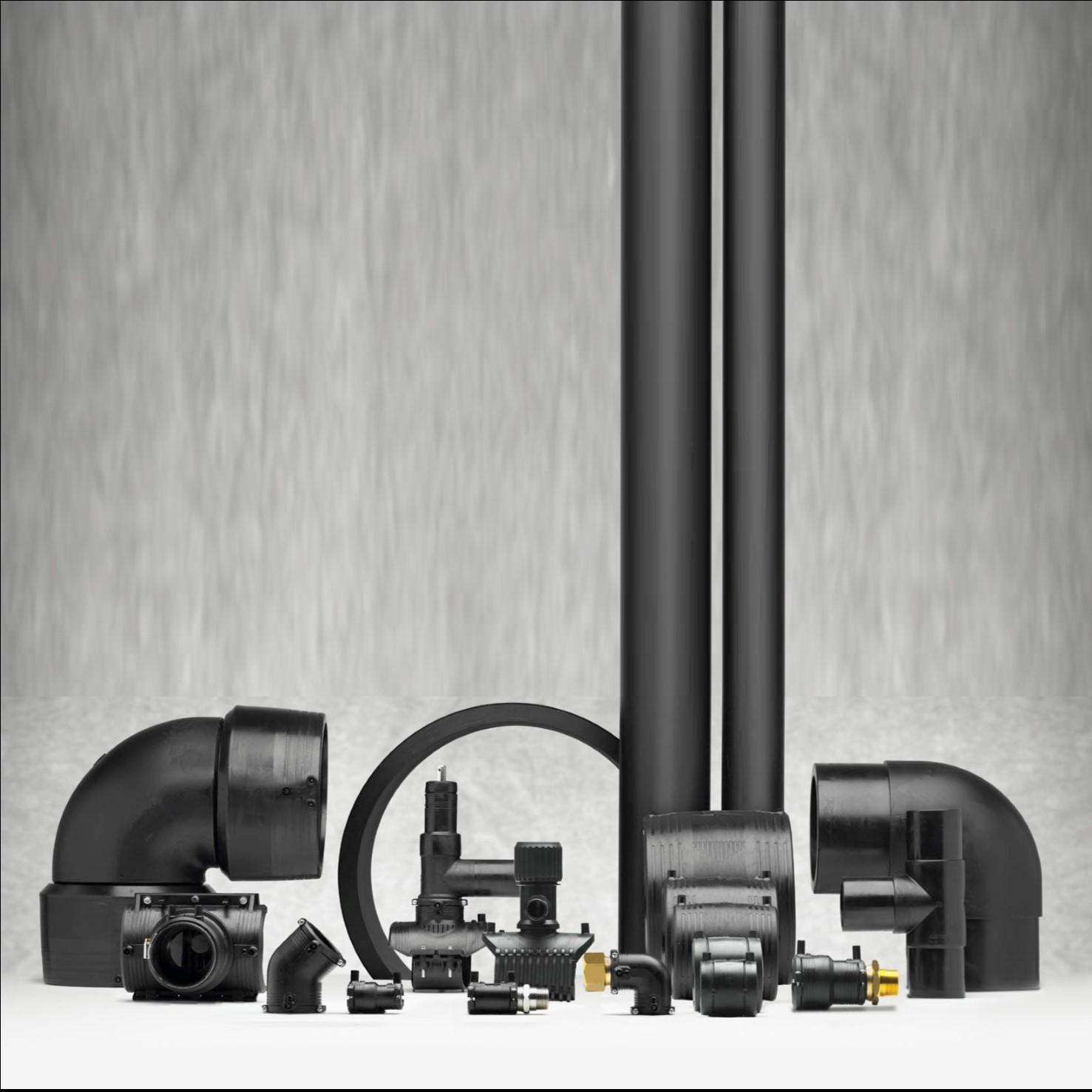 PE industriële kunststof leidingsystemen