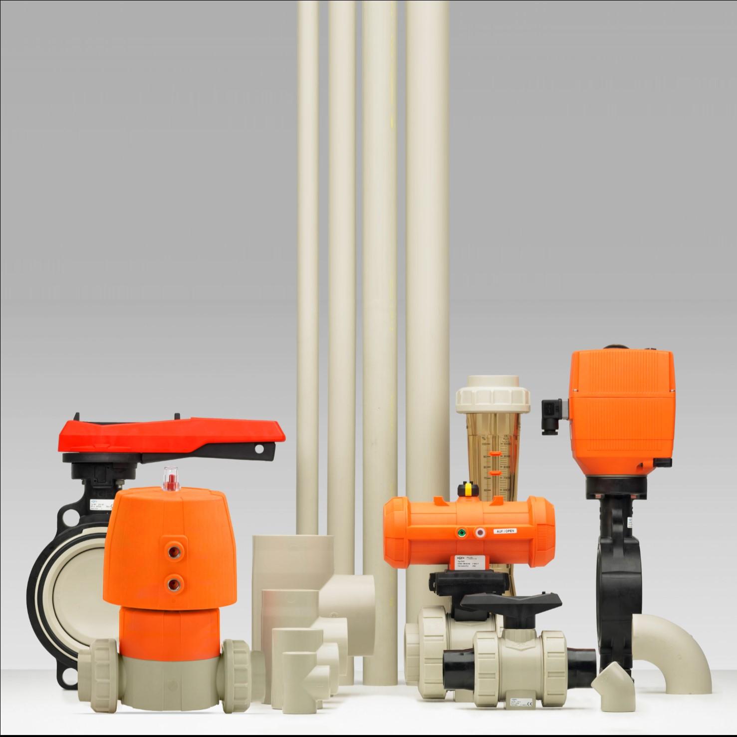 PP industriële kunststof leidingsystemen