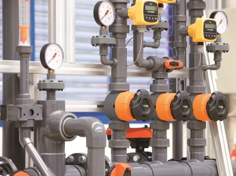 Kunststof leidingsystemen voor industriële of ventilatie toepassingen