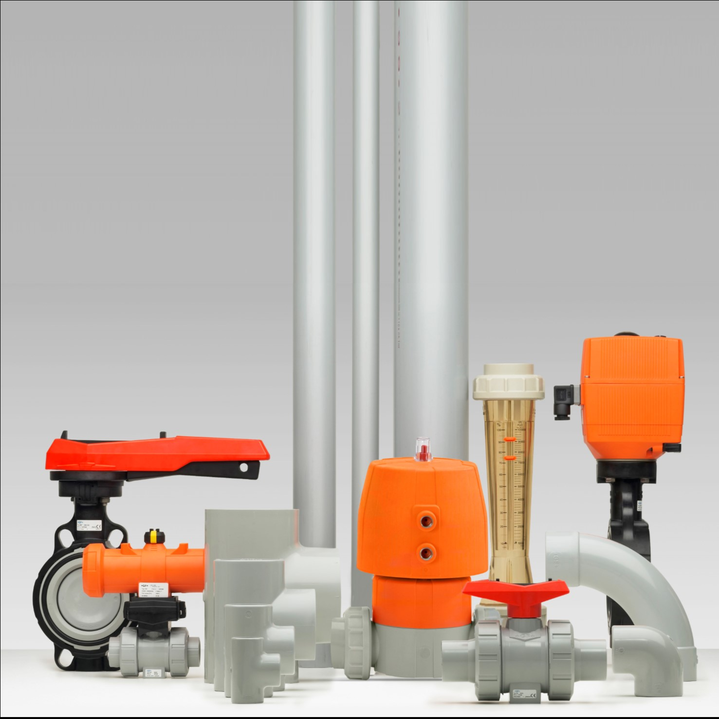 PVC-C industriële kunststof leidingsystemen