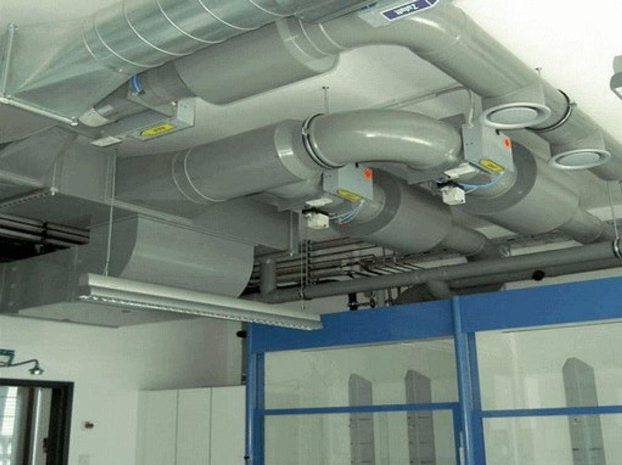 PPs Ventilatie leidingsystemen