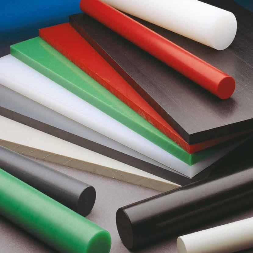 Kunststof halffabricaten zoals platen, staven en profielen