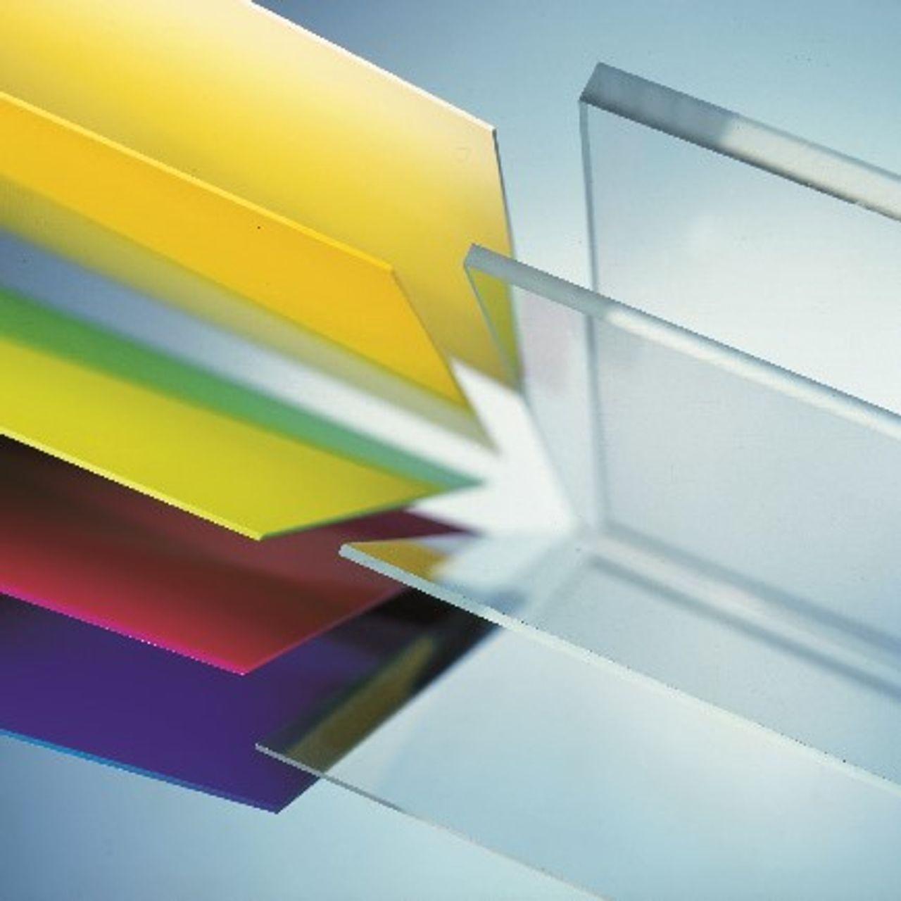 Plexiglas, PMMA (Polymethylmethacrylaat) plaat