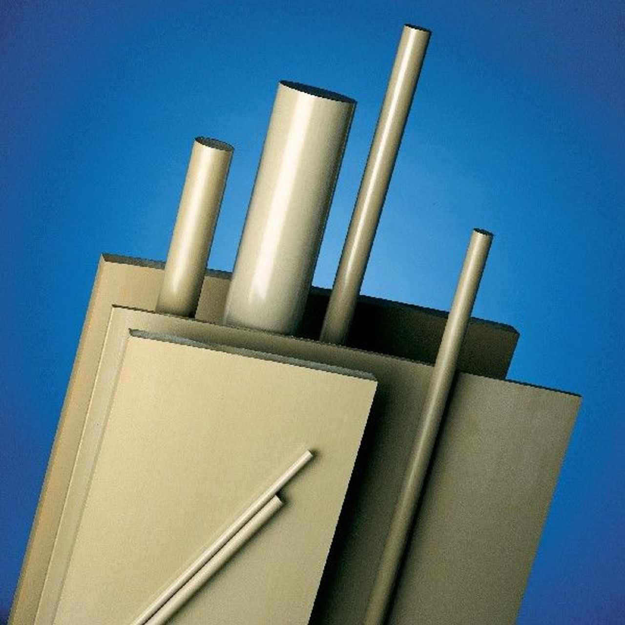 PEEK (Polyetheretherketon) plaat