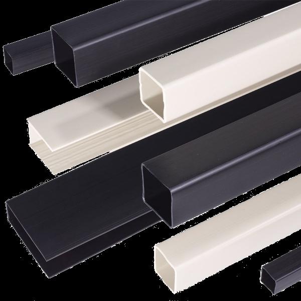 PVC (Polyvinylchloride) kunststof koker hoek profielen