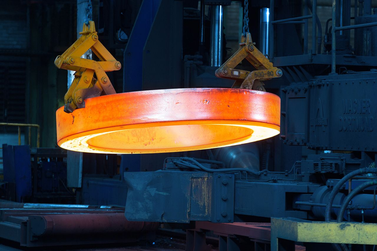 Bearings for wind turbines made by thyssenkrupp rothe erde